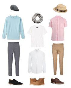 """Toma's pastel look"" by arini-lioni on Polyvore featuring Paul Smith, AMIRI, 120% Lino, Lands' End, Joseph, UGG, Topman, MANGO MAN, Gap and men's fashion"