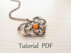 Jewelry tutorial DIY - Tutorial wire wrap - copper soldering