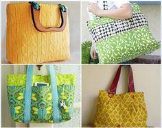 Purse Tutorial ~ 15 Fabulous Free Bag Patterns