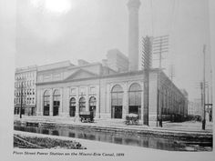 Plum St. power station on the canal