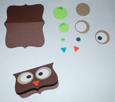 My LDS & Other Projects: Owl Treat Toppers