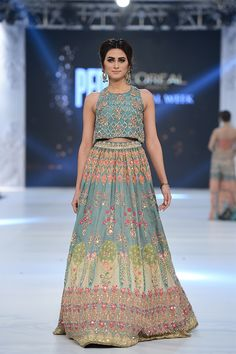 Pakistan Bridal Fashion Week Wedding Outfits are a fresh change in wedding wear as compared to Indian bridal outfits. Check out the top 50 favourites here. Indian Bridal Fashion, Indian Wedding Outfits, Bridal Fashion Week, Pakistani Outfits, Bridal Outfits, Asian Fashion, Indian Outfits, Indian Designer Outfits, Designer Dresses