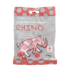 Safe our Rhinos .... every paw print counts