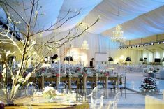 Luxury wedding decoration