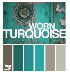 old old turquoise