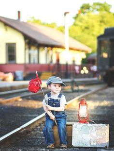 Child photographer |  Sweet Moments in Time Photography | CT photographer | Essex steam train
