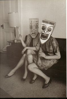 Happiness is…Saul Steinberg's Masquerade