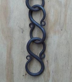 Rat Tail Loop S Link Chain Hand Crafted Decorative Home Garden Decor
