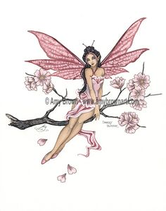 Fairy Art Artist Amy Brown: The Official Online Gallery. Fantasy Art, Faery Art, Dragons, and Magical Things Await. Elfen Fantasy, Fantasy Art, Amy Brown Fairies, Dark Fairies, Fairy Drawings, Fairy Tattoo Designs, Kobold, Geniale Tattoos, Fairy Pictures
