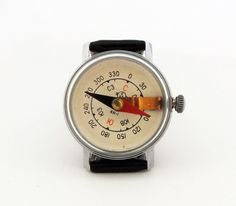 Vintage Wrist Compass made by Chistopol Watch by USSRvintage