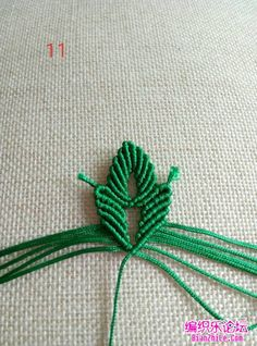 点击查看原图 Macrame Patterns, Flower, Oak Tree, Craft Work, Flowers