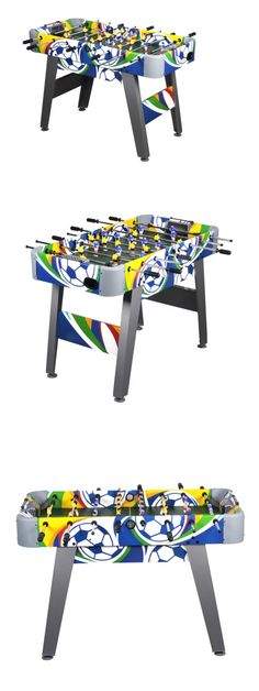 Foosball 36276: Multi Combo Game Table Pool 58 Inch Air Hockey Foosball  Soccer For Family