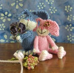 Love Bunnies Knitted Bunny Pattern