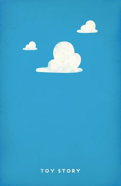Toy Story (1995) ~ Minimal Movie Poster by Andrea Nguyen ~ Pixar Series #amusementphile