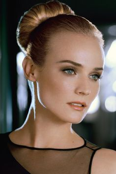 Diane Kruger...I love her hair in this photo.