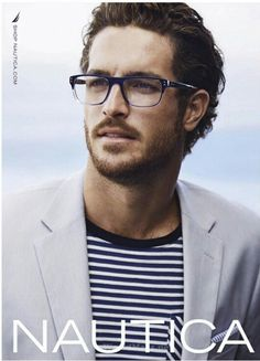 New Nautica Eyewear Collection—Nautical Elements, Timeless Color Palettes, and Sophisticated Accents Stylish Men, Men Casual, Justice Joslin, 2016 Fashion Trends, Smart Men, Men's Grooming, Gentleman Style, Casual Street Style, Pretty Boys