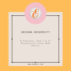 University Of Calcutta, Examination Results, Exam Results, Pharmacy, State University, Krishna, Finding Yourself, Apothecary