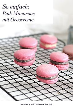 Macarons, Oreo, Apple Pie, Cupcakes, Food And Drink, Blog, Muffins, Group, Beauty
