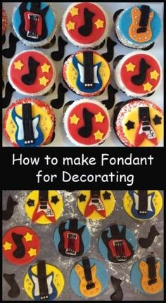 How to make Fondant and other tutorials here.