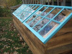 new cold frame by peacefulbean ( goodkarma ), via Flickr