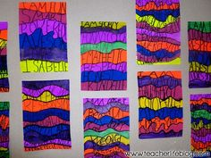 """Brighten up your room with this """"I am"""" Art Project! A great self-esteem booster for your students."""