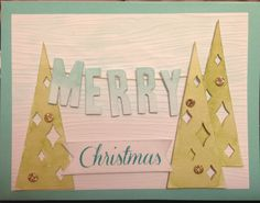 Stampin' Up! demonstrator Melanie H's project showing a fun alternate use for the Watercolor Winter Simply Created Card Kit.
