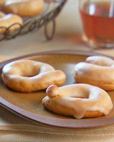 "Passed down from Lucinda's Great-Aunt Carolina, these traditionally savory Italian cookies are made sweet with Marsala wine and a light lemon glaze.   From the book ""Lucinda's Rustic Italian Kitchen,"" by Lucinda Scala Quinn (Wiley)."
