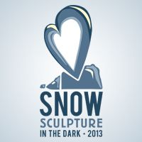 Snow Sculpture in the Dark 2013 in #Loveland, #Colorado. http://www.engagingloveland.org/events/featured-events/sculpture-in-the-dark