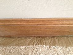 How To Paint Baseboards With Wall Carpet