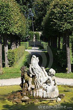 veitshoechheim castle | Palace And Court Garden Veitshoechheim Royalty Free Stock Photos ...