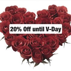 Until #ValentinesDay❣ enjoy 20% off use code: Lovers