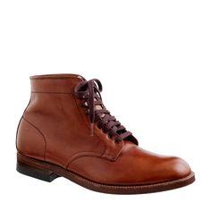 Alden® for J.Crew plain toe boots : boots   J.Crew
