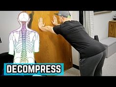 DIY (Decompress It Yourself!) 3 Quick Steps to Legnthen Your Spine Scoliosis Exercises, Posture Exercises, Decompress Spine, Strengthen Hip Flexors, Core Exercises For Beginners, Shoulder Rehab, Hip Pain Relief, Inversion Therapy, Posture Fix