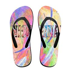 Shehe Nicky Mina Barbz Unisex High Quality Beach Flip-flops Slippers Black * You can find out more details at the link of the image.