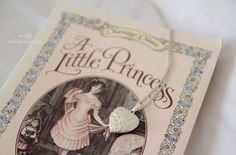 A Little Princess party favor idea: copy of book and a locket Bad Candy, Lily Evans, Princess Aesthetic, Sansa Stark, Cecile, Bioshock, Little Princess, Princess Party, Book Worms