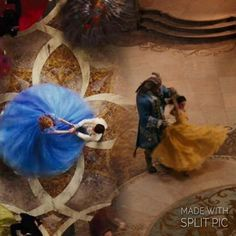 Love this. I can't wait to see Beauty and the Beast. #The waltz