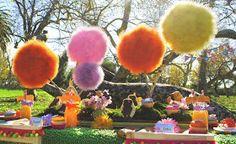 Gwynn Wasson Designs: {Tips & Hints} Lorax Party Truffula Tree Tutorial. Use spheres instead of discs