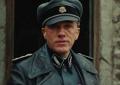 Christoph Waltz as Colonel Hans Landa in Inglourious Basterds.