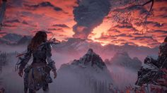 Less than five minutes into the Frozen Wilds DLC and Horizon Zero Dawn has reminded me how good it looks
