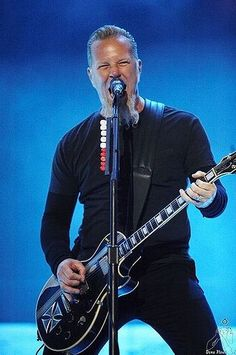 James Hetfield - Metallica por Dena Flows - Bilbao BBK Live 2007.