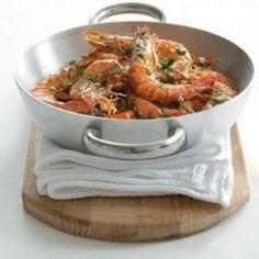 Marinated+roasted+prawns+