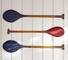 Rustic Oars: #projectnursery #franklinandben #nursery