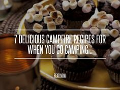 7 Delicious Campfire Recipes for when You Go Camping... - Food Summer is coming fast, which means you may be in need of some delicious campfire recipes! Whether you're having a bonfire in your backyard or roughing it in the great outdoors, it's fun to cook over a fire. We all know you can make s'mores, hot dogs, and marshmallows over an open flame, but what about all the other possibilities?! If you're looking for some more camp fire recipe options this summer, then read on to learn 7 ...