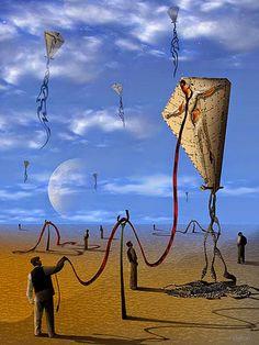 MARCEL CARAM  Marcel Caram é um artista digital brasileiro fascinado com o Surrealismo. Suas obras remetem ...