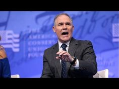 Scott Pruitt makes a fool of himself again — Strive 4