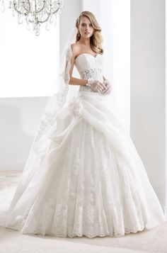 DressilyMe Bridal Dresses Online,Wedding Dresses Ball Gown, alluring tulle organza satin sweetheart neckline see through ball gown wedding dress with beaded lace appliques Wedding Dresses With Flowers, 2016 Wedding Dresses, Wedding Dresses Plus Size, Designer Wedding Dresses, Wedding Gowns, Wedding Attire, Bridesmaid Dresses, Steampunk Wedding Dress, Wedding Dress Gallery