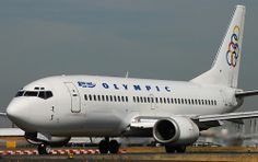 737-300 (SX-BLC) Olympic Airlines Jets, Olympic Airlines, Airline Logo, Boeing Aircraft, Metal Birds, Jet Plane, Aeroplanes, Spacecraft, 21st Century