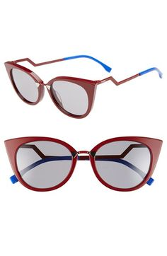 a65e1f80754f Fendi 52mm Cat Eye Sunglasses available at  Nordstrom Latest Sunglasses