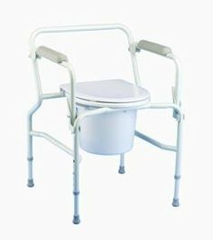 Drop-Arm Commode [COMMODE DROP ARM STATIONARY] [EA-1] by INVACARE CORPORATION. $99.99. Designed to help accommodate transfers in restricted or confined areas. Can be used over the toilet with use of optional splash shield. Easy to operate drop-arm: simply push the lever to release the arm, or lift the lever to lock in the upright position. Adjustable height leg extensions fit a variety of users. Angled legs for increased stability. Anti-rattle collars eliminate noise...