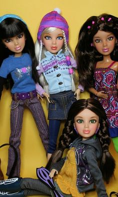 "Liv dolls were a line of 12"" fashion dolls made by Spin Master from 2009-12. They are now discontinued. The characters in the Liv doll line were Sophie, Katie, Alexis, Daniela, Hayden and Jake (the only male)."